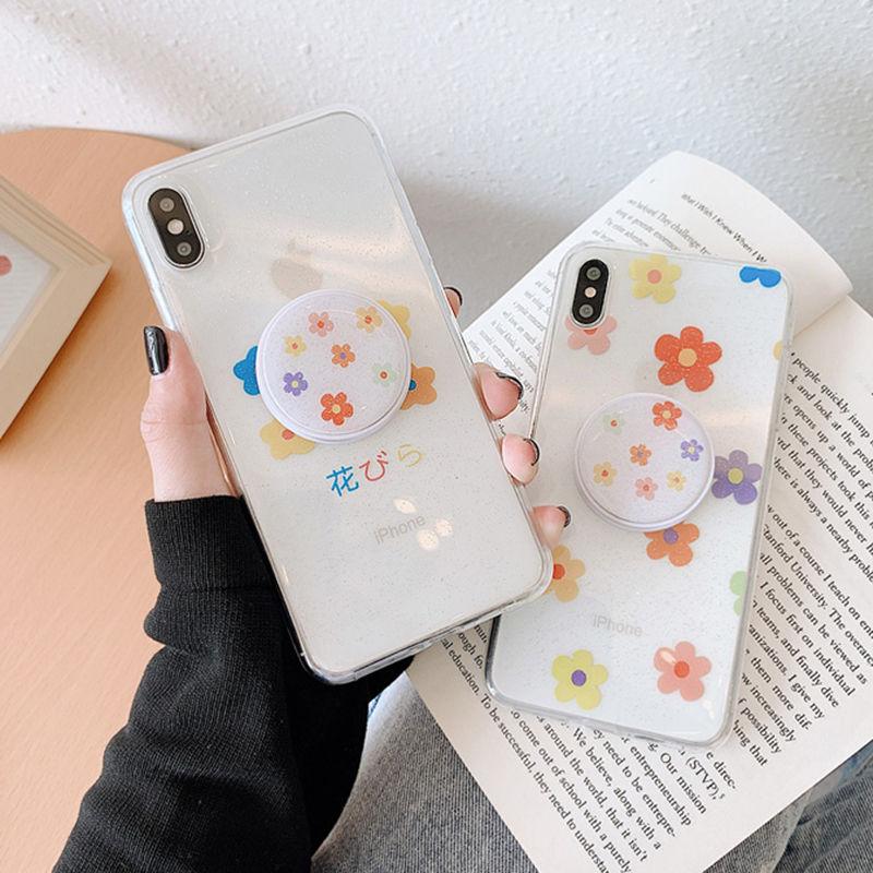 【N513】★ iPhone 6 / 6sPlus / 7 / 7Plus / 8 / 8Plus / X /XS /XR/Xs max★ シェルカバーケースFlower