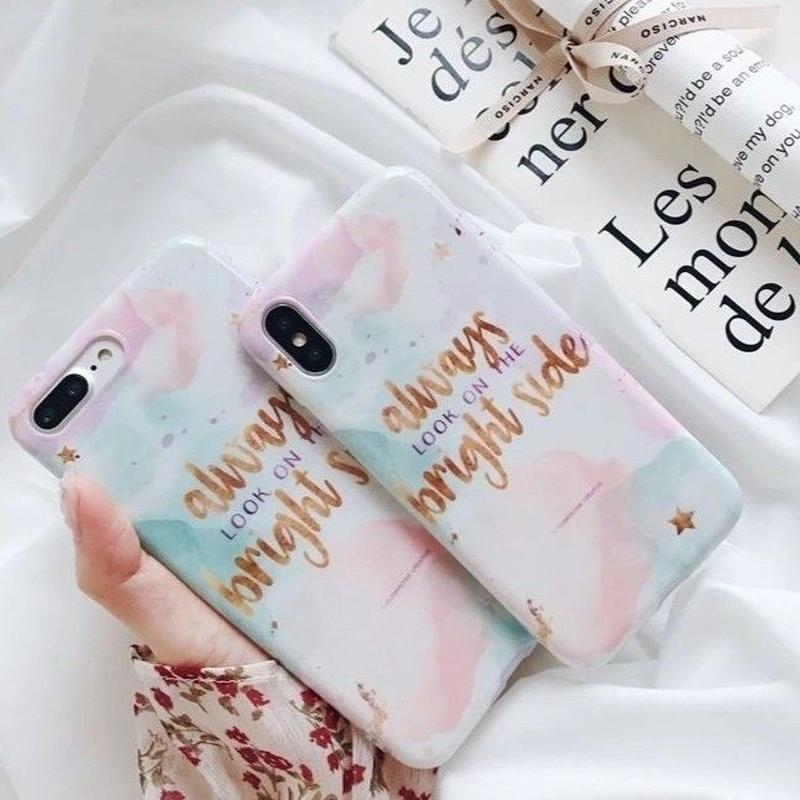 Water paint iPhone case
