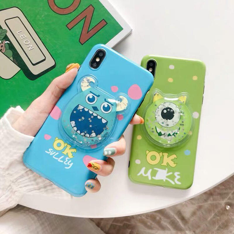 【Disney】OK Mike & Sulley Jelly iPhone case