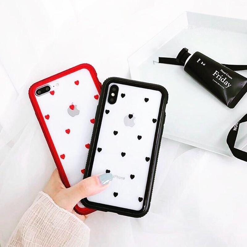 Magnetic Mini Hearts iPhone case