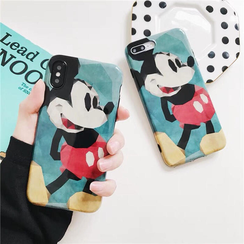 【Disney】Classic Mickey Green iPhone case