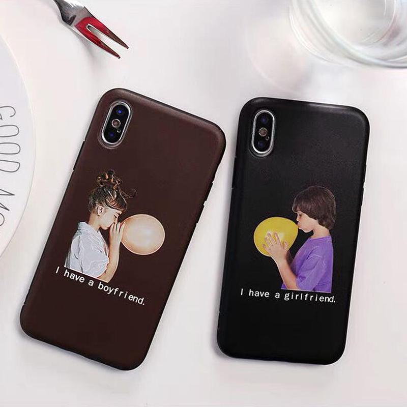 Boy&Girl friend iPhone case