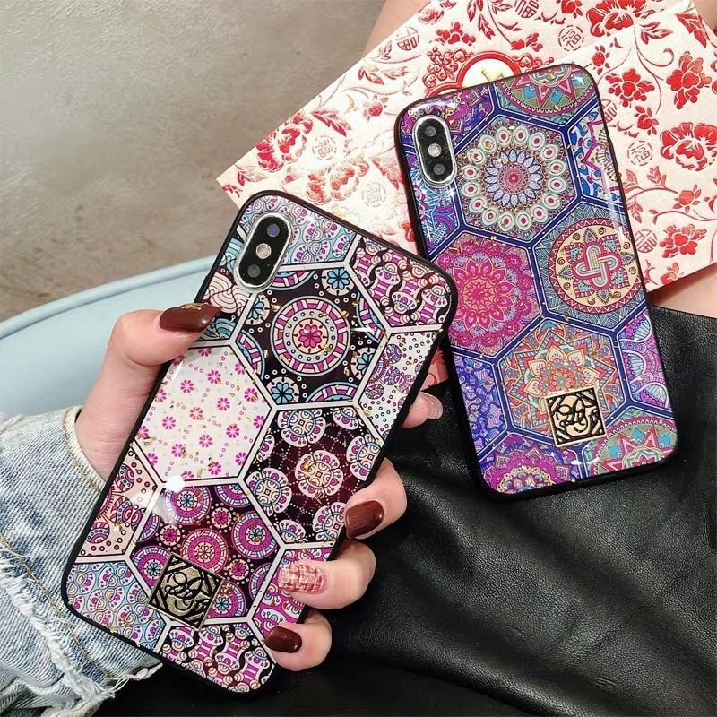 Hexagon Vintage Ethnic iPhone case