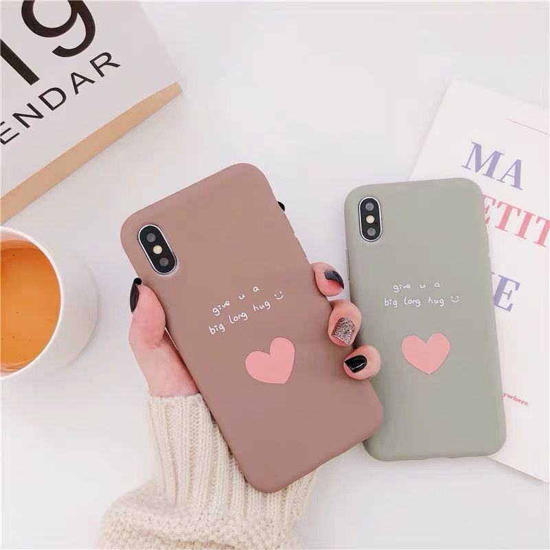 A Heart big hug iPhone case