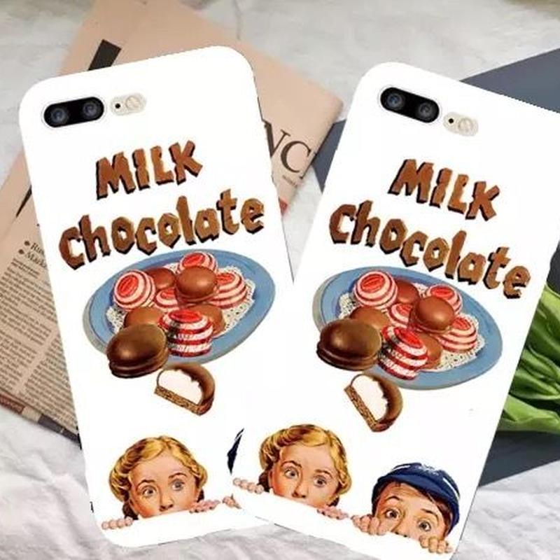 Milk  Chocolate kinds iPhone case