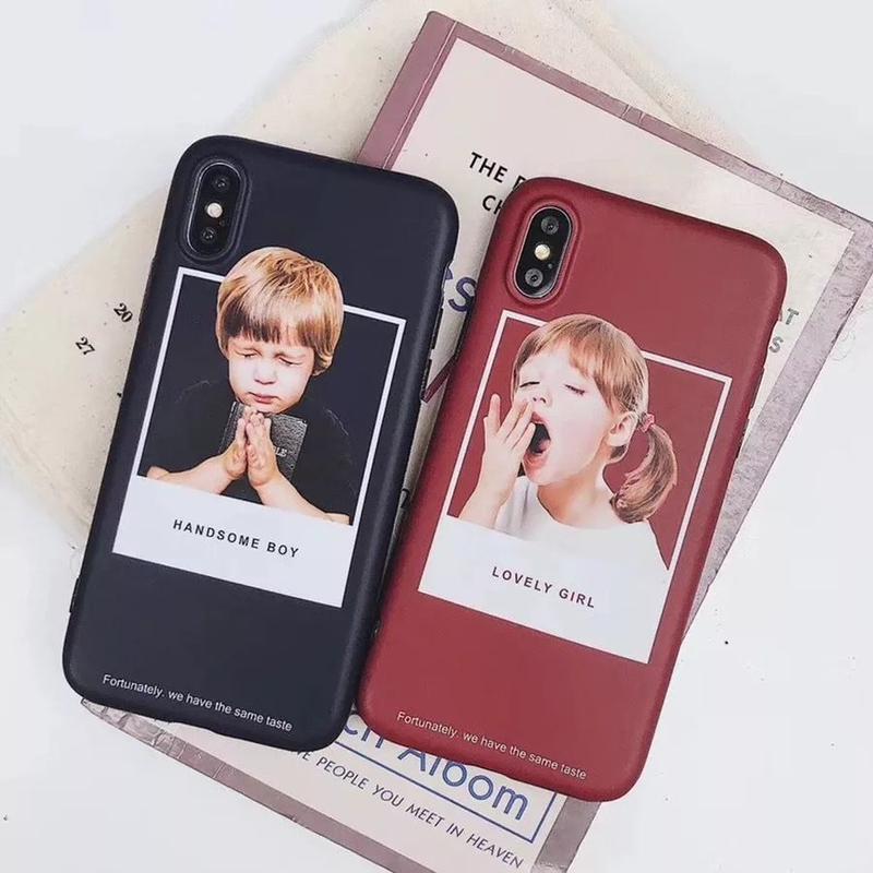 Boy&Girl iPhone case