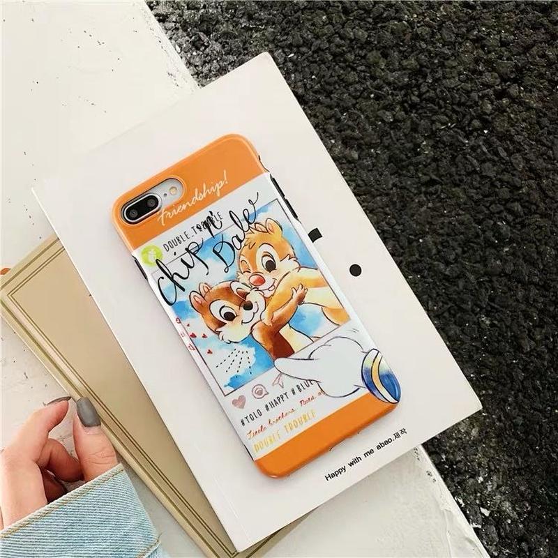 【Disney】Donald&Chip 'n' Dale iPhone case