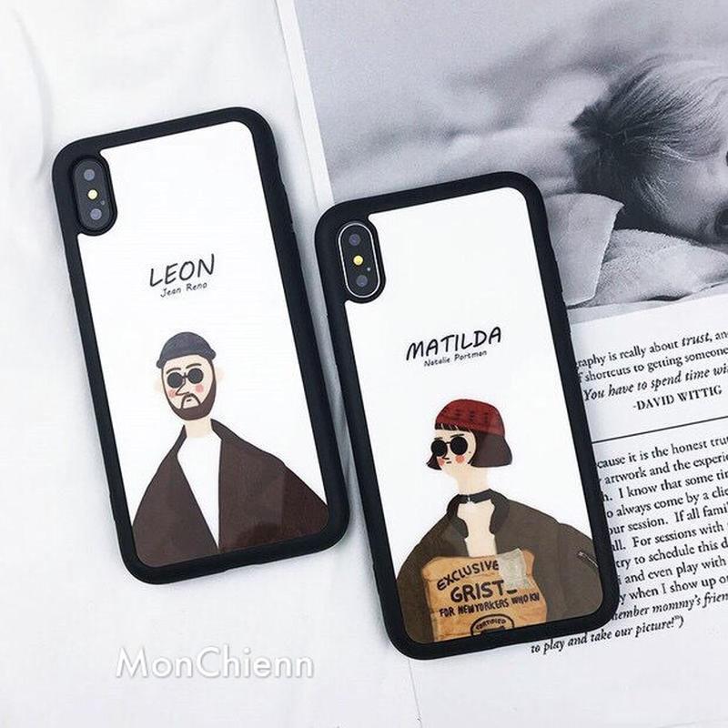 Leon&Matilda iPhone case