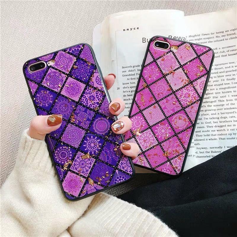 Purple Pink Ethnic iPhone case