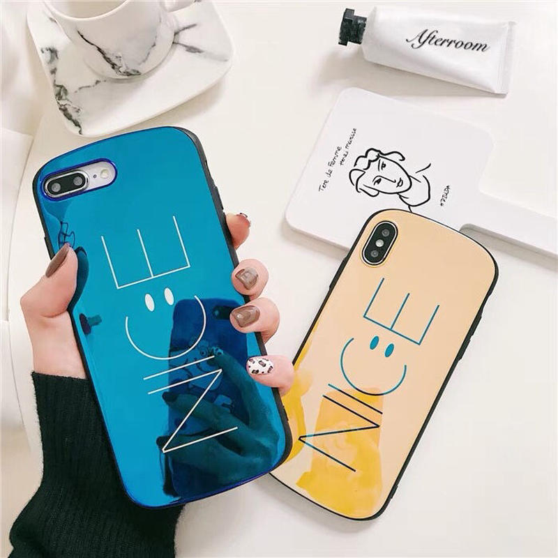 Laser Nice Smile iPhone case
