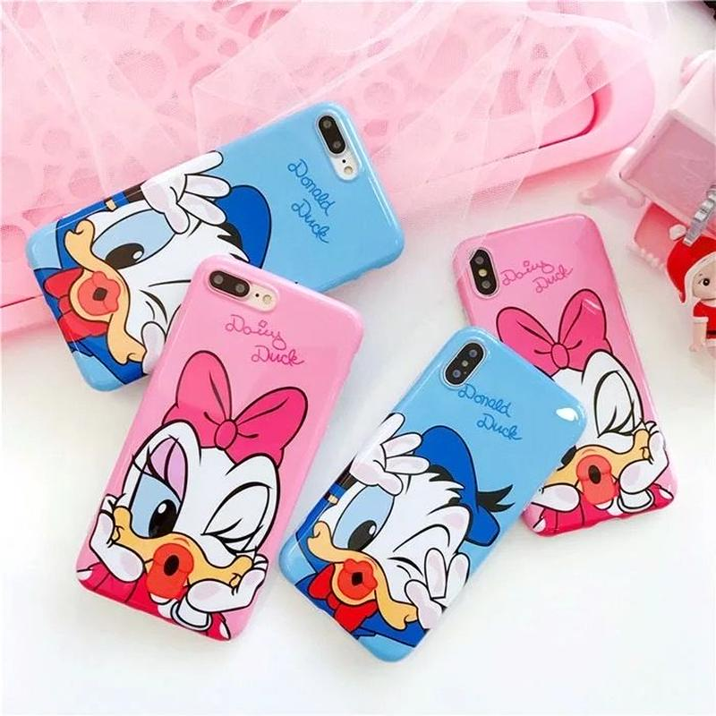 【Disney】Donald&Daisy iPhone case
