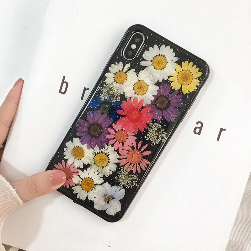 Dry Dasiy Black iPhone case