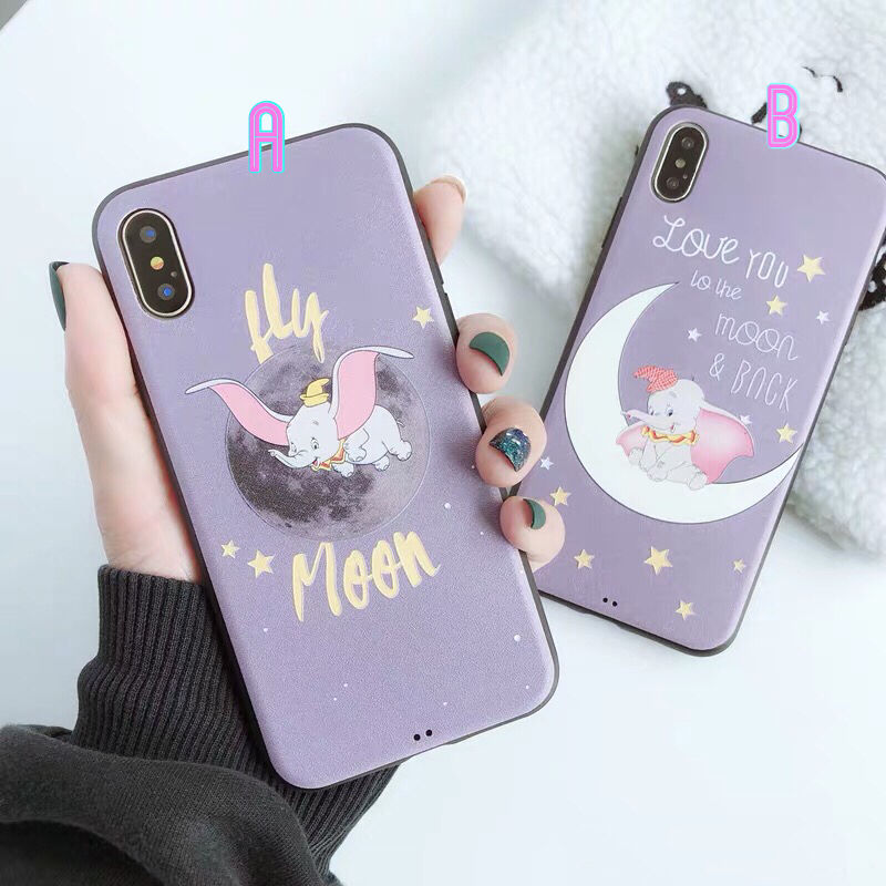 【Disney】Dumbo Purple iPhone case