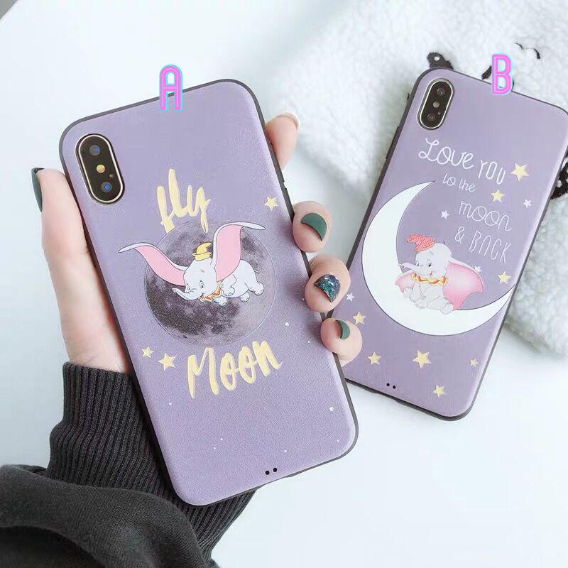 【Disney】Dumbo Purple iPhone case