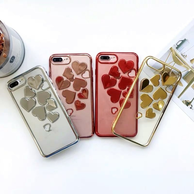 Metal Hearts iPhone case