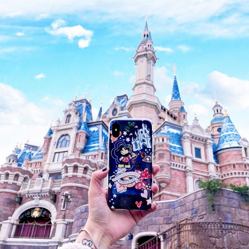 【Disney】Doodle Disney iPhone case