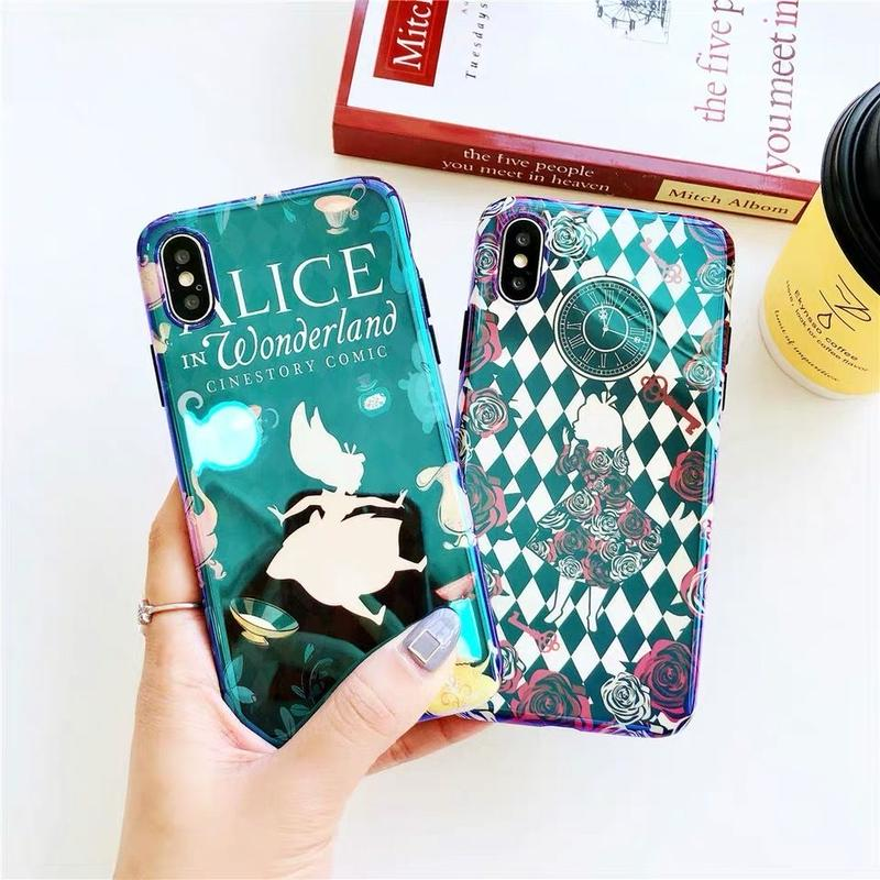 【Disney】Alice in Wonderland II iPhone case