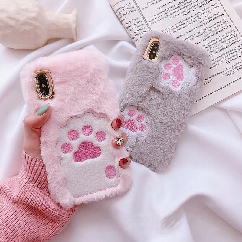 Fur Cat Paw iPhone case