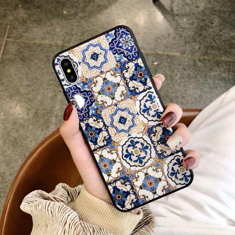 Blue Ethnic iPhone case