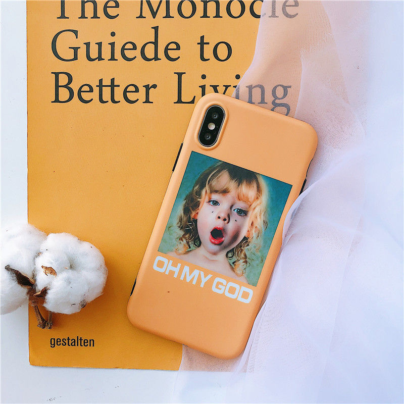 Oh My God Girl iPhone case