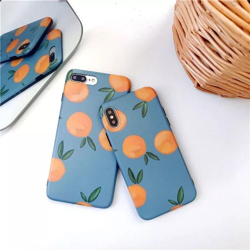 Orange satsuma iphone case
