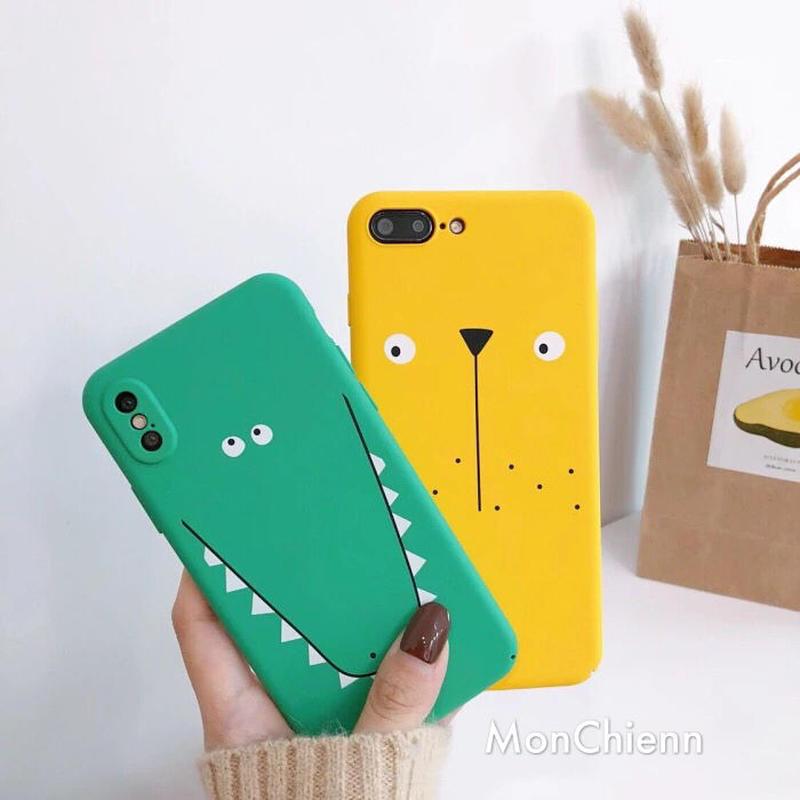 Animal face iPhone case