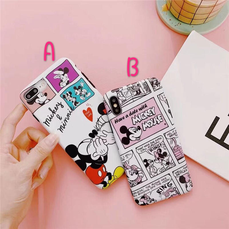 【Disney】Mickey&Minnie II iPhone case