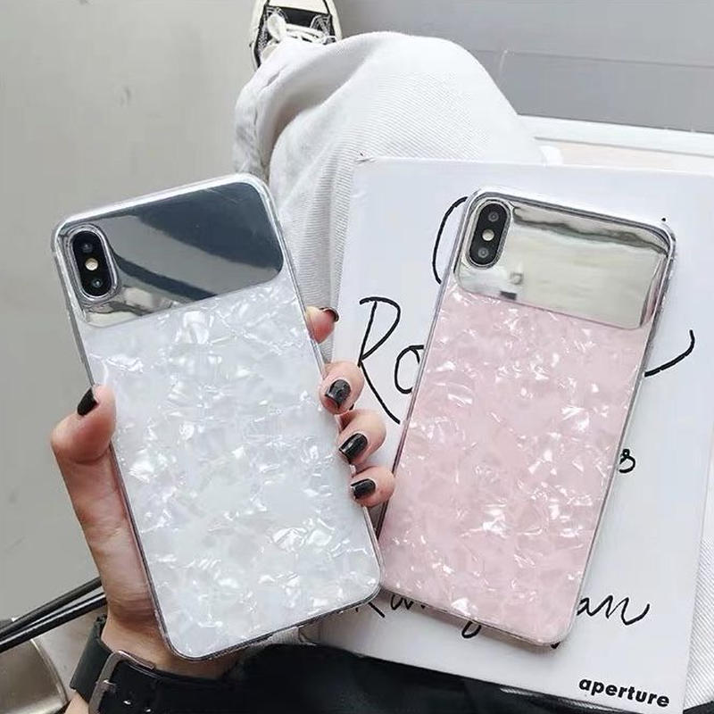 Aurora White Pink iPhone case