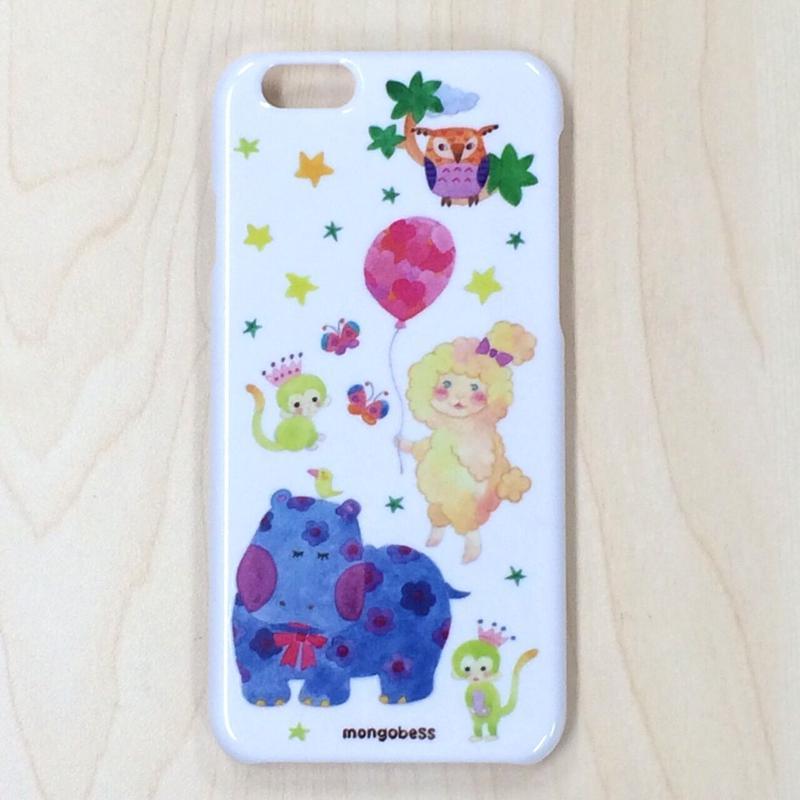 iPhoneケース☆6対応☆カバとひつじ
