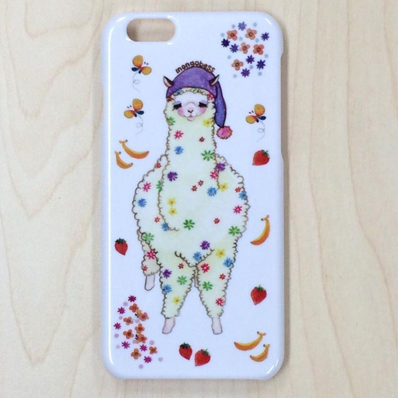 iPhoneケース☆6対応☆おねむりアルパカ