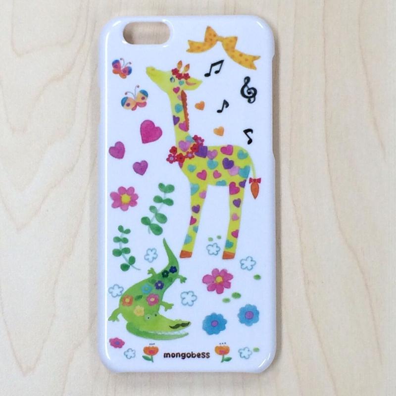 iPhoneケース☆6対応☆ワニとキリン