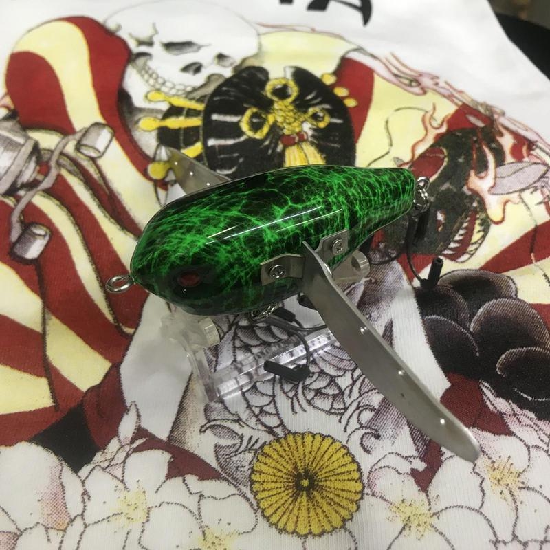 【 Tiny FP-Crawler】Black green marble