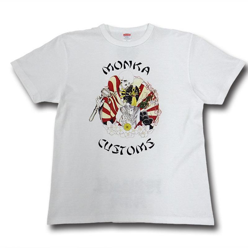 FP骸骨花魁Tシャツ【プレオーダー】