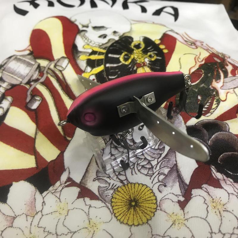 【 Tiny FP-Crawler】Matt Black & Pink Line