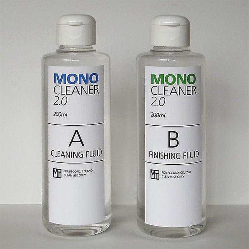 【アナログレコード洗浄液】モノ・クリーナー レギュラーセット