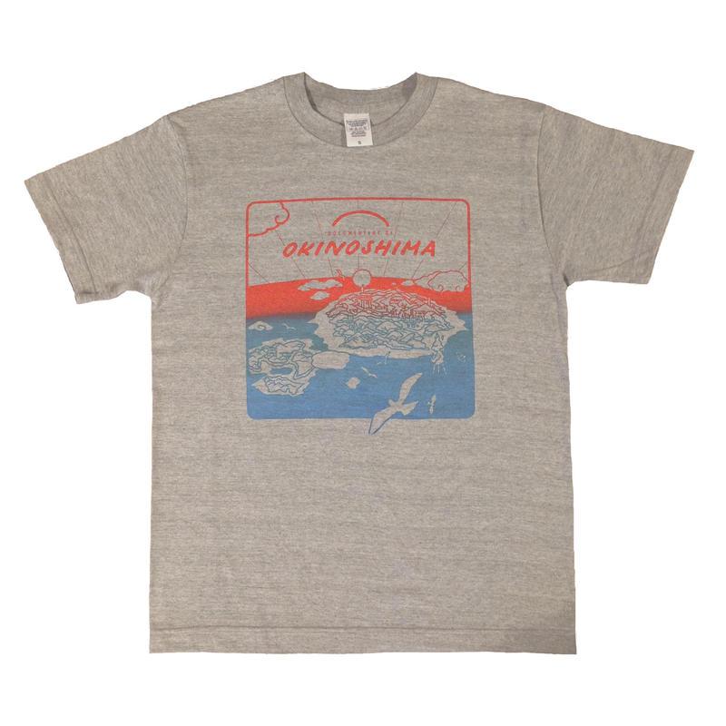 OKINOSHIMA Tシャツ  杢グレー