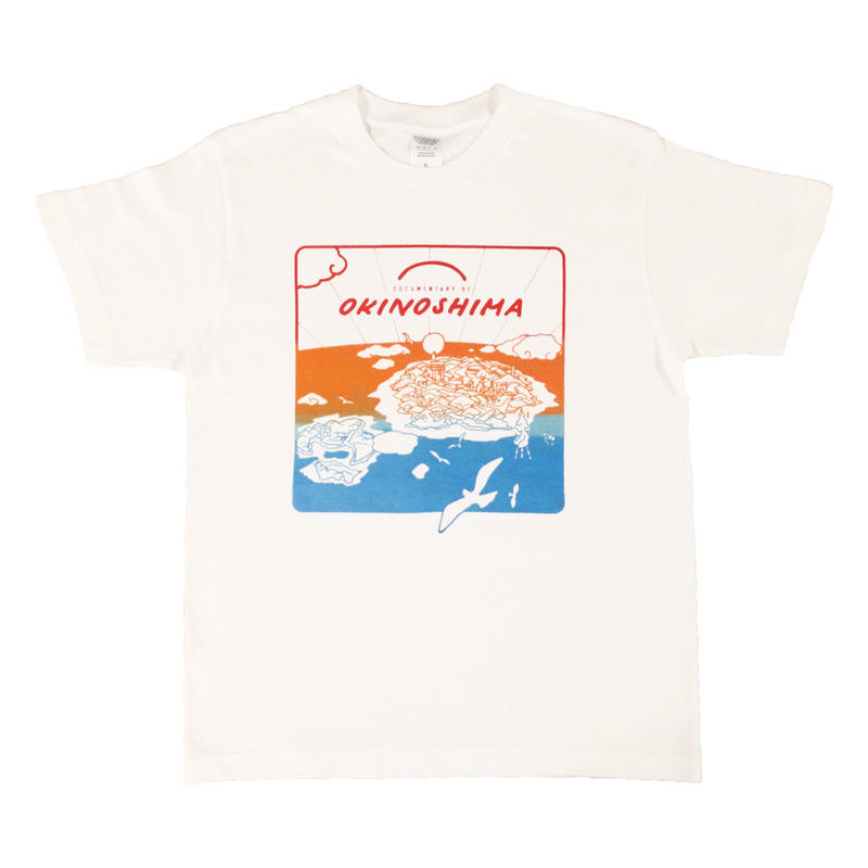 OKINOSHIMA Tシャツ 白