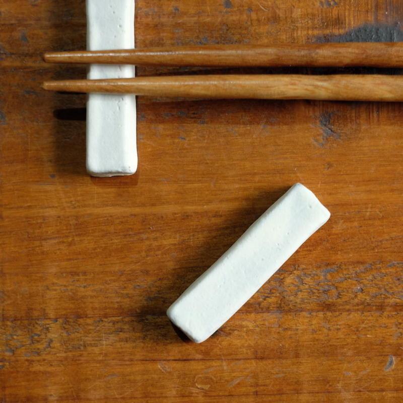 kobo syuro 粉引 箸置き 2つセット