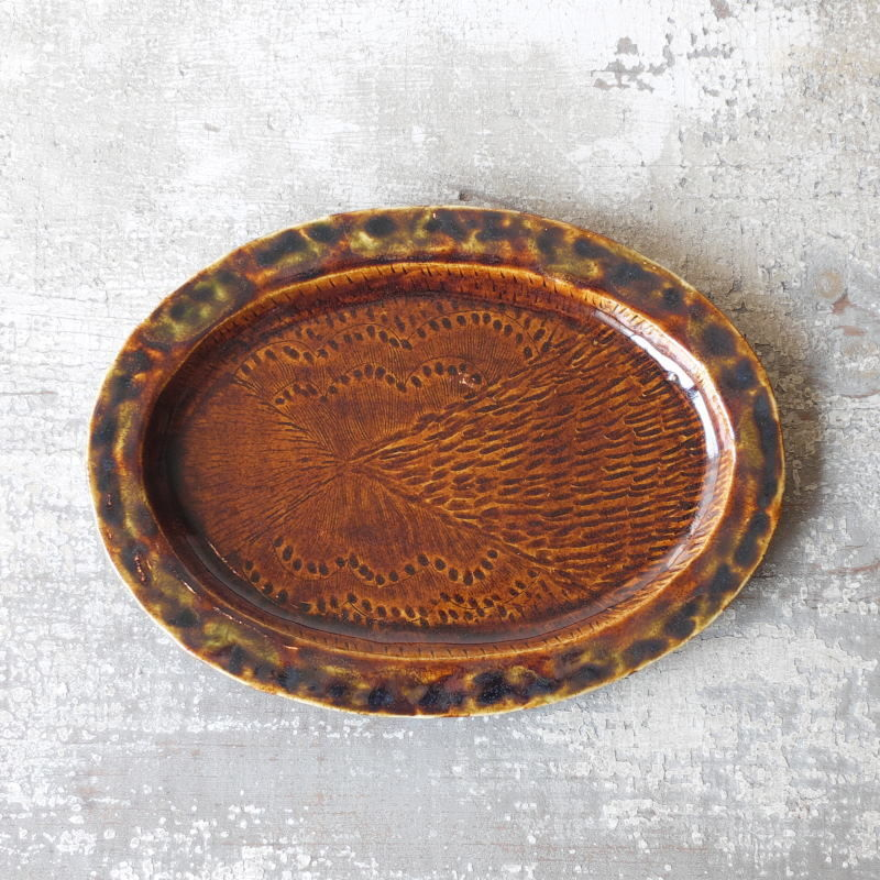 mouhitoaji  オーバル皿