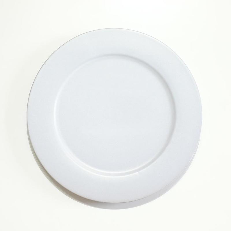 炻器 plate M 白
