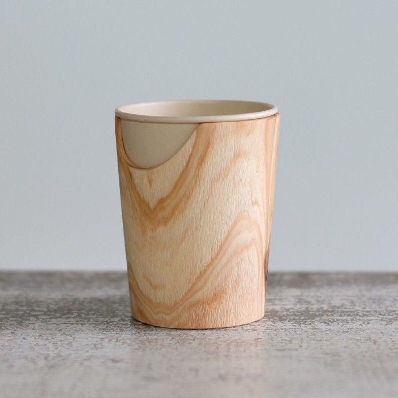FUQUGI 木製カップホルダー(実物写真) 1