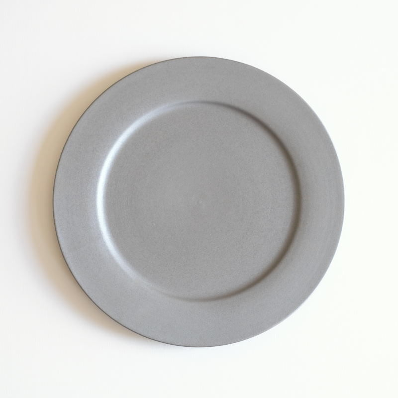 炻器plate M グレー