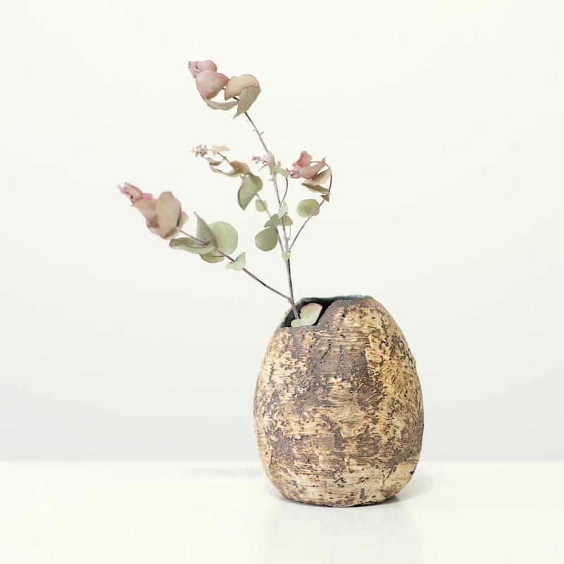 螢松窯 森の花器B・小 (実物写真)