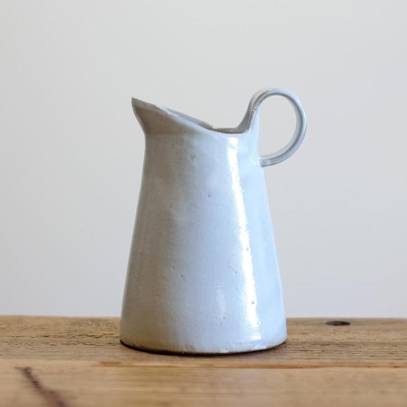 teto ceramics ピッチャー・小(白透明釉)
