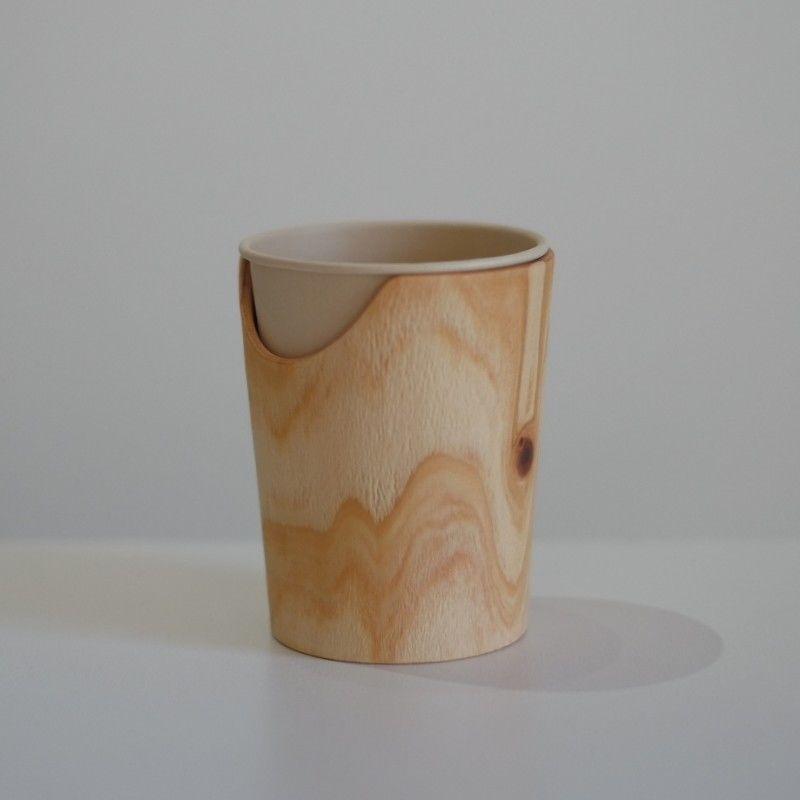 FUQUGI 木製カップホルダー (実物写真) 9