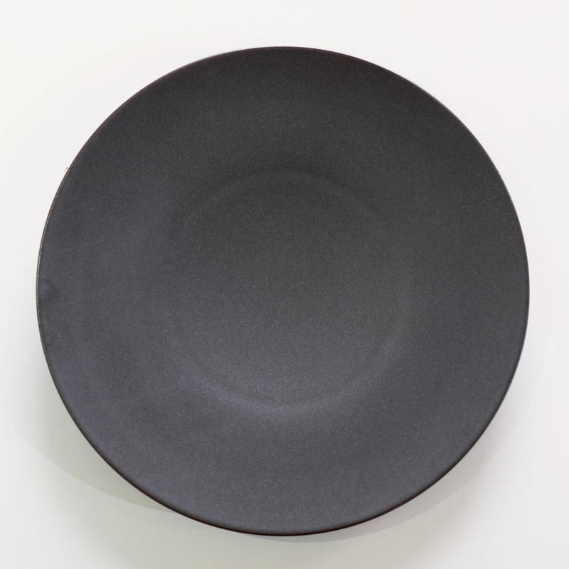 炻器plate  L  黒