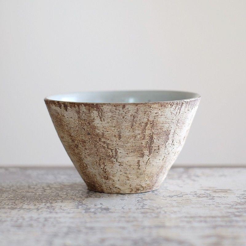 螢松窯 森のフリーカップ(粉引)