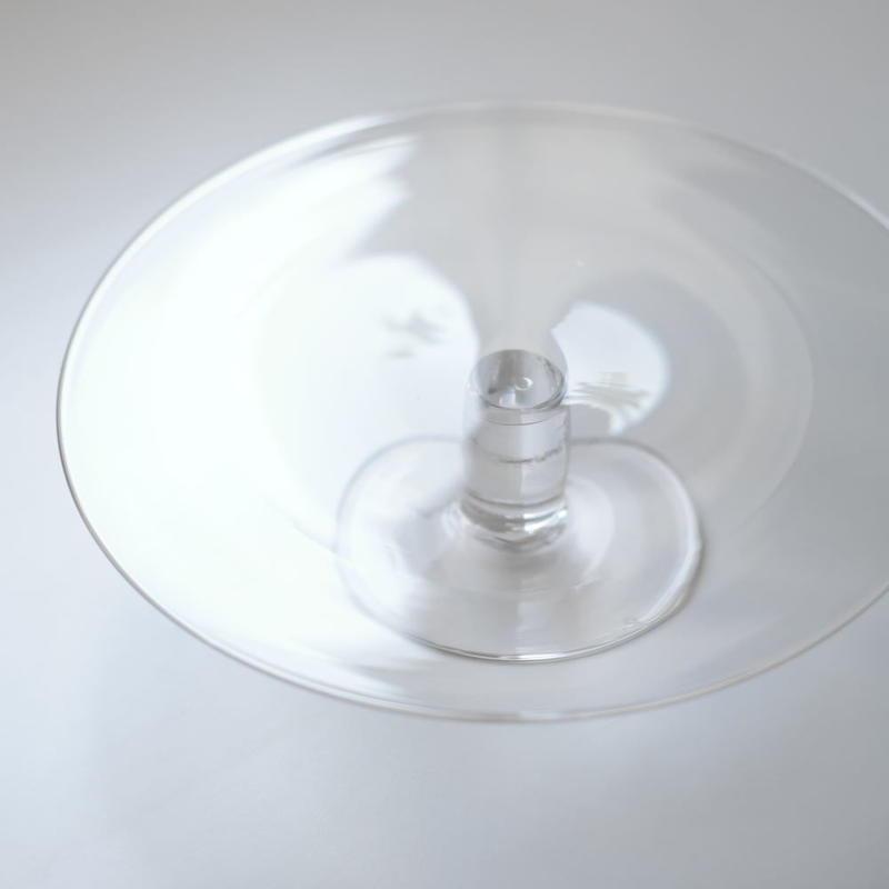 鈴木 努 18センチフラットコンポート皿(実物写真)