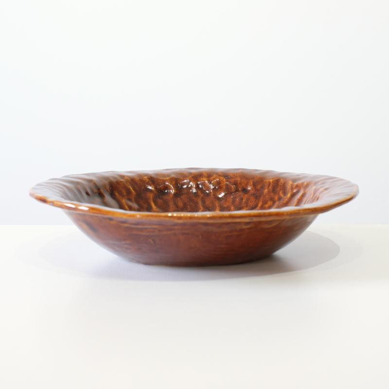 mouhitoaji 茶色いカレー皿