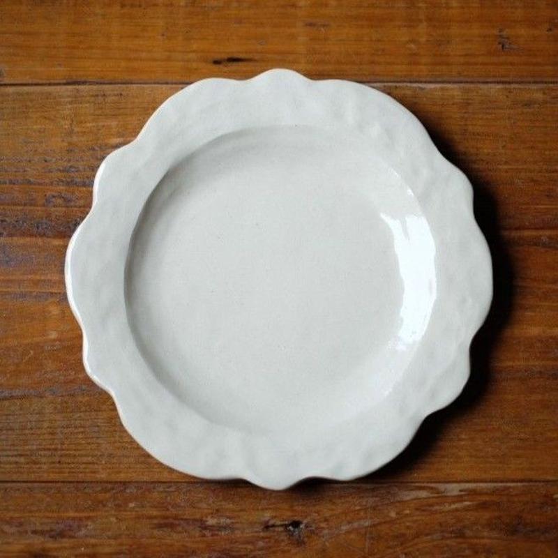 mouhitoaji フローラルリム皿(5寸皿)
